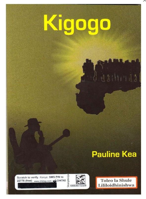 Mwongozo wa riwaya ya Kigogo by Pauline Kea , summary