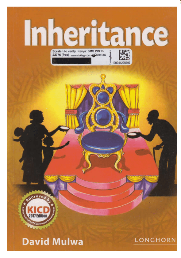 pdf guide of setbook Inheritance by David Mulwa