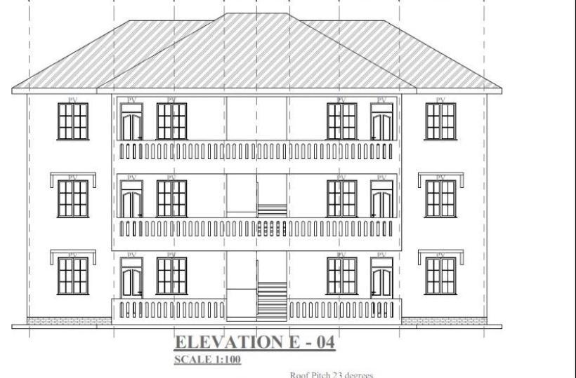 2 bedroom house plans in kenya, two story