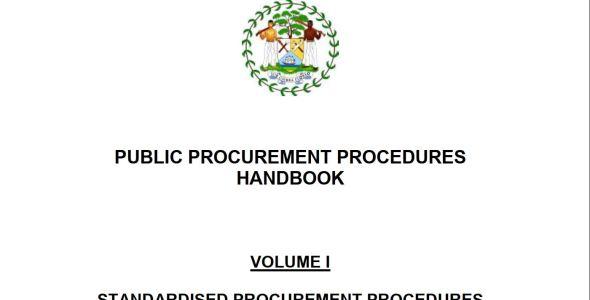Standardized Public Procurement Procedures Handbook (Kenya)