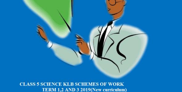 Class 5 klb science schemes of work