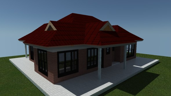 Simple 2 bedroom for a small family