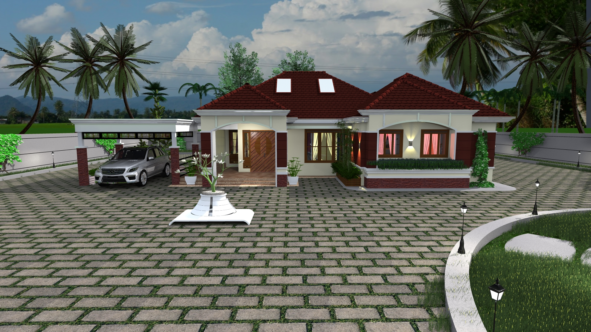 Four Bedroom Bungalow House Design in Kenya - Muthurwa.com