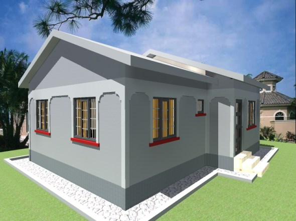 Two bedroom house design