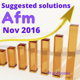 CPA Advanced financial management questions and answers (Nov 2016)