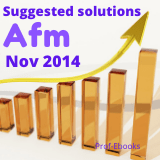 CPA Advanced financial management questions and answers (Nov 2014)