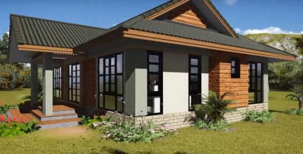 3 Bedroom Simple House Plan