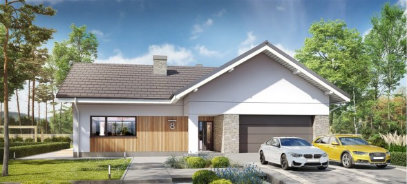3 Bedroom House Plan With Double Garage