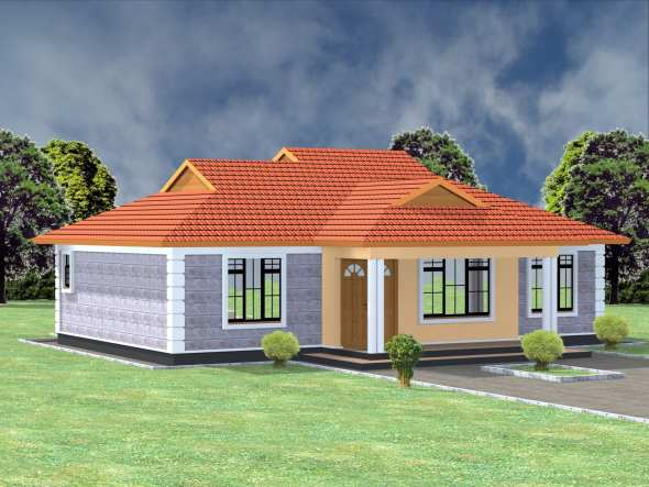 1 Bedroom House Plan