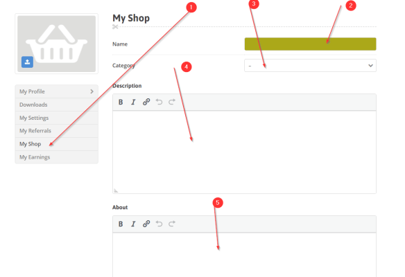how to open shop on muthurwa.com