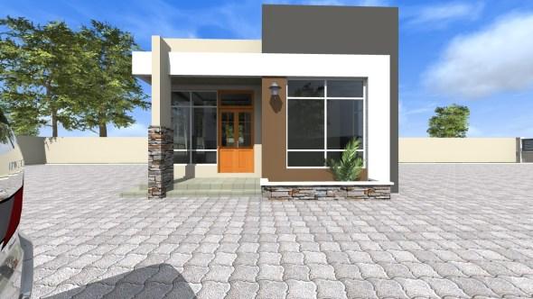 2 Bedroom House Plan