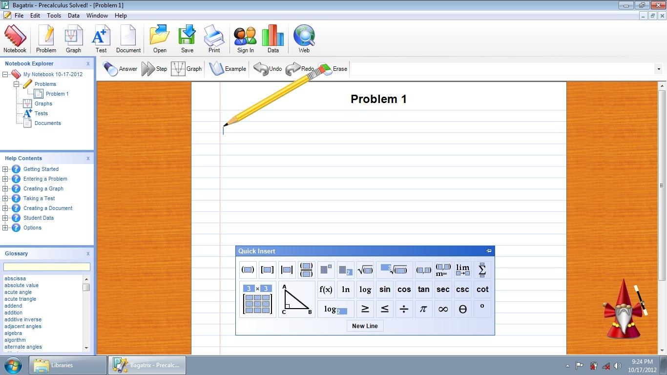 Cara Penggunaan Aplikasi Precalculus Solved