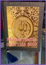 Cetak buku yasin murah cover royal batik coklat