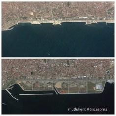 Kent içinde kamusal mekanları buharlaştırıp Maltepe'de sahil dolgusu ile alan yaratmak