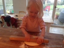 Pizza rolling