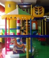 Mini Carousel at Funky Monkeys