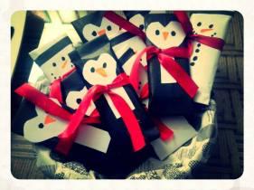 Pingu cover wrapped Chocolates