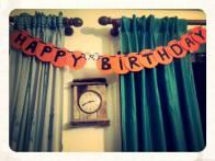 Pingu Party Happy Birthday Banner