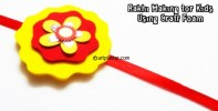 Craft Foam Rakhi