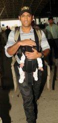 MS Dhoni's baby Ziva photos