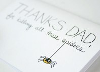 Funny Father's Day Card: The favour deserves a Thanks!