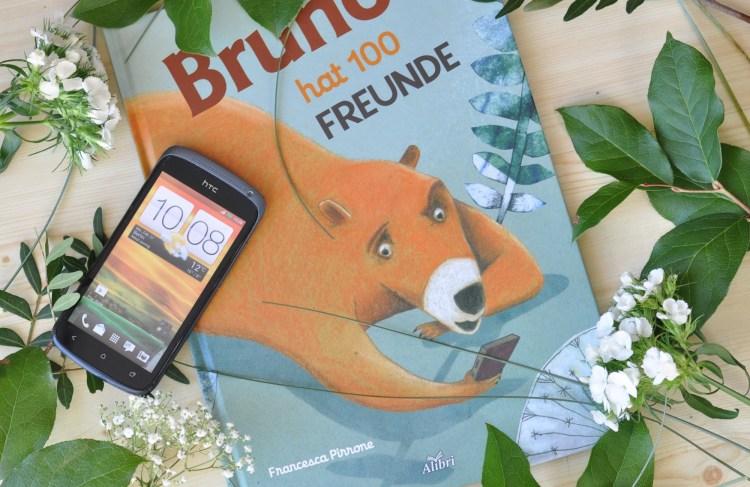 Smartphone und Kinder – Bruno hat 100 Freunde