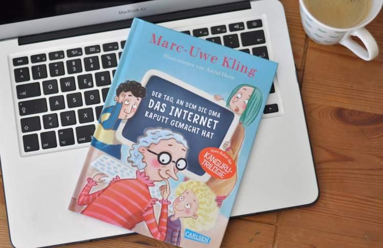 Der Tag, an dem die Oma das Internet kaputt gemacht hat #Kinderbuch #buchtipp #lesen #vorlsen #internet #oma #buch