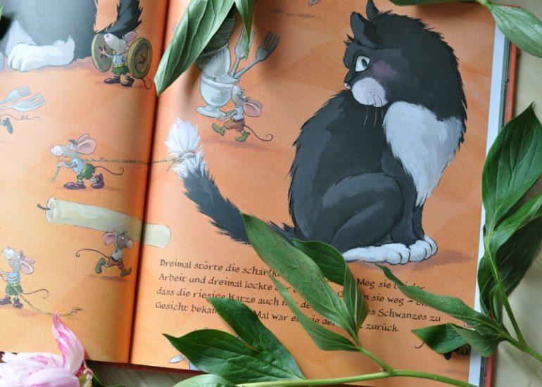 Der Mäuseritter von Cornelia Funke #Bilderbuch #Kinderbuch #Katze #Maus #Ritter