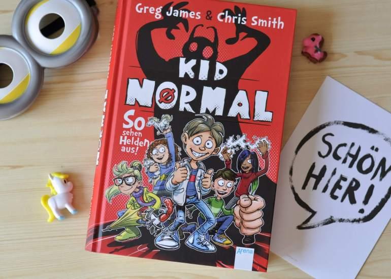 Kid Normal 1 #kinderbuch #buch #lesen #vorlesen #junge #buchtipp #superhelden