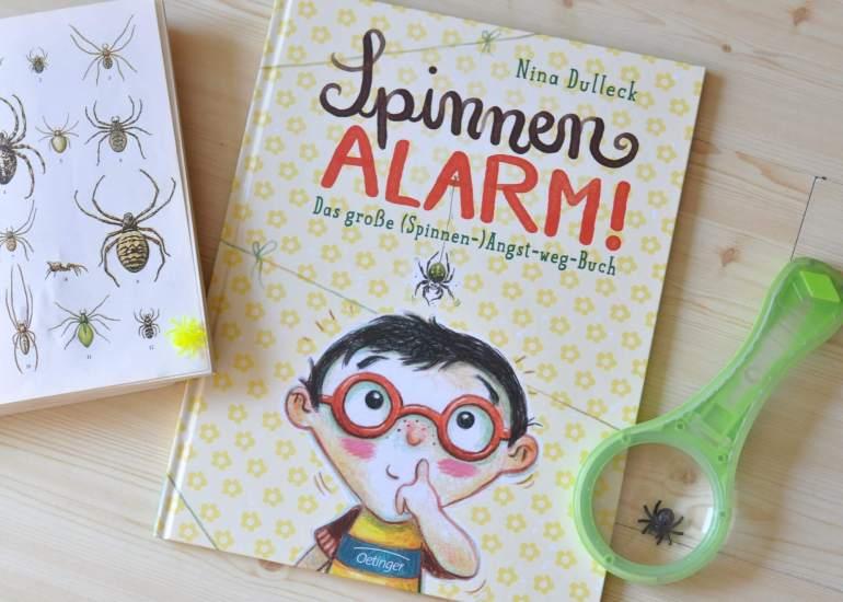 Spinnenalarm - Das große Spinnen-Angst-weg-Buch #angst #spinne #kinderbuch #bilderbuch #buch #insekten #lesen #vorlesen