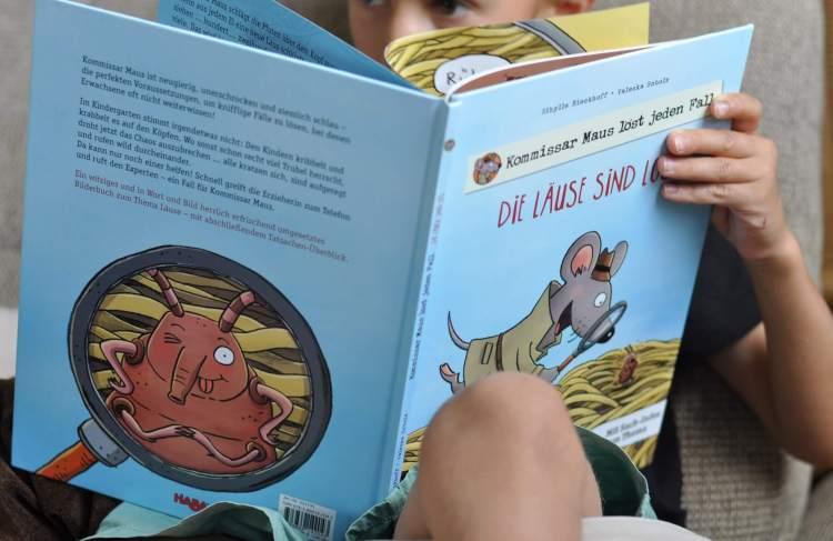 Sachbilderbuch: Die Läuse sind los – Kommissar Maus löst jeden Fall