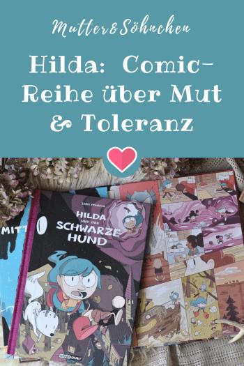 Hilda - eine fantastische und spannende Comic-Reihe ganz ohne Kampfeinlagen #fantasy #comic #graphicnovel #kinderbuch #lesen #vorlesen