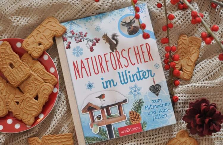 Mitmach Sachbuch ab 8 Jahren: Naturforscher im Winter