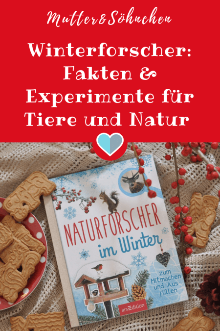 Wundervolles Sachbuch für Kinder ab 8 Jahren mit Fakten über Tiere und Natur, Experimenten, Rätseln und Stickern #sachbuch #kinder #winter #buch #mitmachen #natur #wissen #lernen