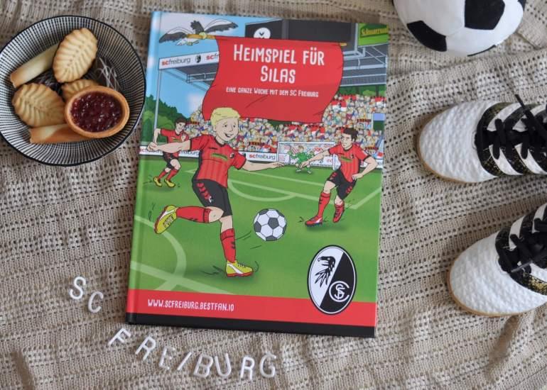 Selbst zum Fußballstar werden - im personalisierten Fußballbuch können Kids einen Tag bei ihrem Lieblingsverein erleben. #fußaball #lesen #vorlesen #kinderbuch #