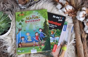 Schnitzen, Spurensuche & Co – Outdoor-Bücher für Kinder ab 5 Jahren