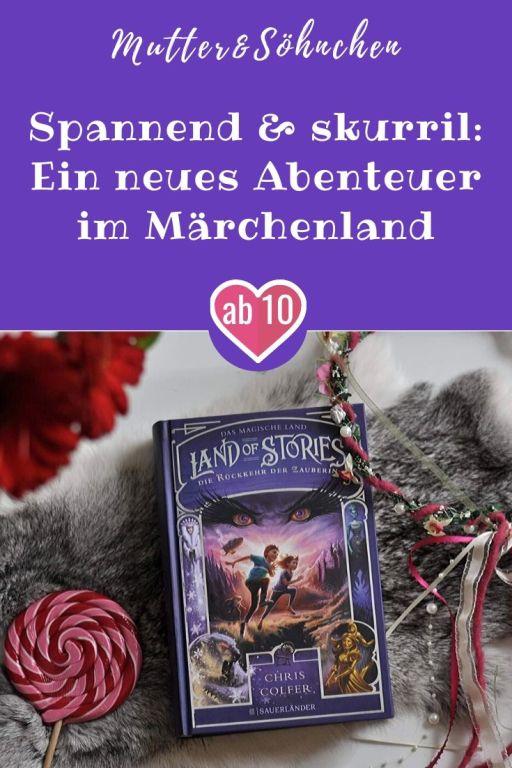 Auf einmal wird das magische Land der Geschichten von einer düsteren Bedrohung - der bösen Zauberin aus Dornröschen - heimgesucht und auch in unserer Welt überschlagen sich die Ereignisse. Die Mutter der Zwillinge wurde entführt, so dass Alex und Conner erneut auf eigene Faust in das magische Land reisen. #märchen #land #stories #zauberin #buch #lesen #magie #märchenland #dornröschen