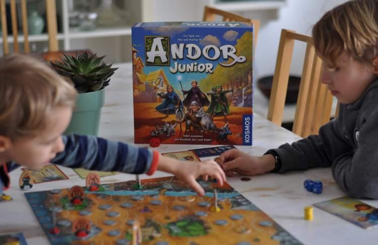 Andor Junior – Kooperatives Fantasy Brettspiel für die ganze Familie