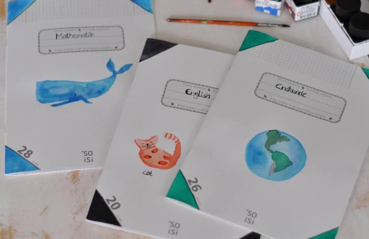 Soisi – Plastikfreie und umweltfreundliche Schulhefte zum selbst gestalten