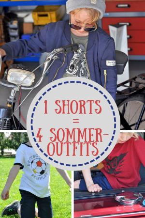 Band of Rascals - Eine Shorts - 4 lässige Sommeroutfist #Fußball #WM #Jungsmode #Jungsstyle #Sommer #Look