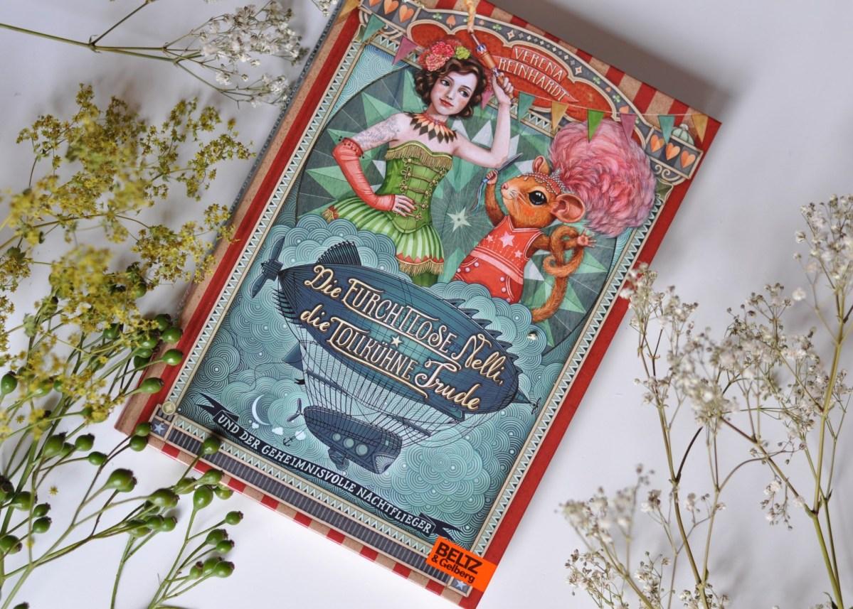Buch-Tipp: Die furchtlose Nelli - ein glitzernder Zirkuskrimi zum Mitraten