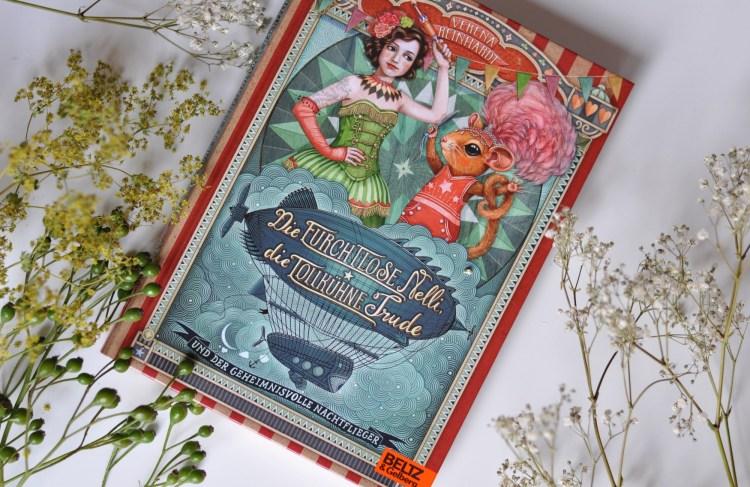 Buch-Tipp: Die furchtlose Nelli – ein glitzernder Zirkuskrimi zum Mitraten