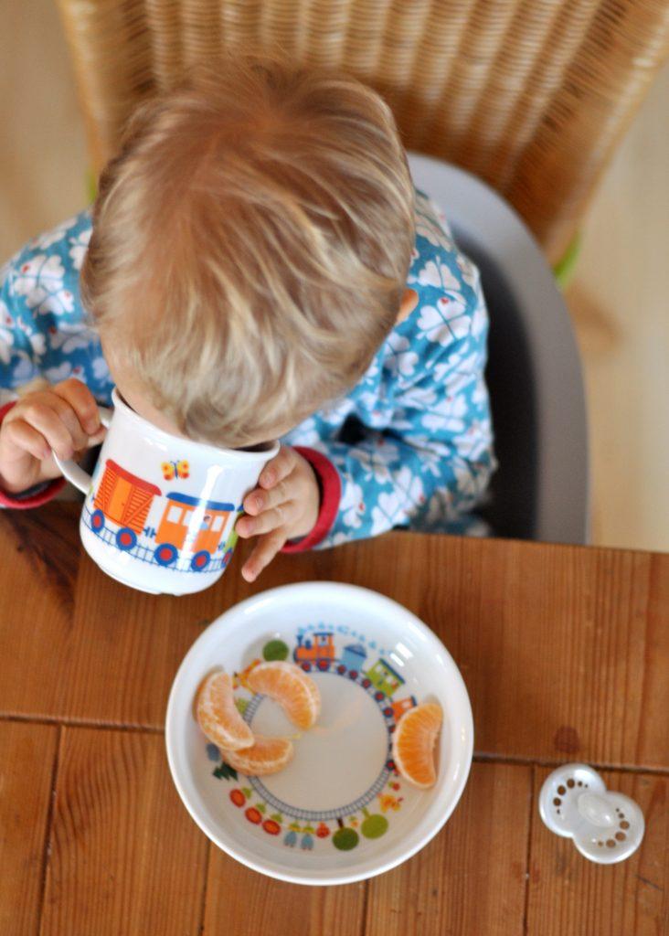 Koru Kids Toddler Booster - Produkttest auf Mutter&Söhnchen
