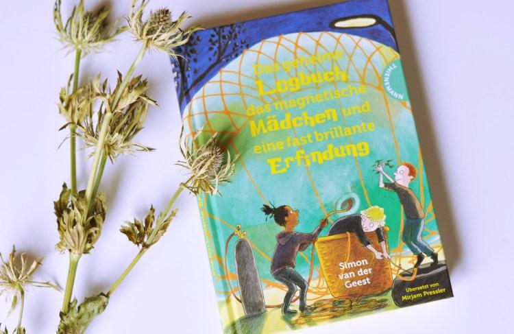 Buch-Tipp: Abenteuergeschichte voller verrückter Ideen – Das geheime Logbuch