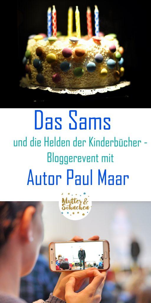Das Sams und die Kinderbuchhelden - Bloggerevent mit dem Autor Paul Maar in Speyer - mehr auf Mutter&Söhnchen #kinderbuch #autor #meetandgreet #sams #paulmaar #museum #kinder