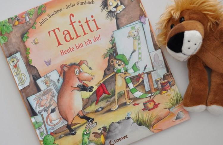 Große Leseliebe für die Kleinen: Tafiti – Heute bin ich du! #Verlosung