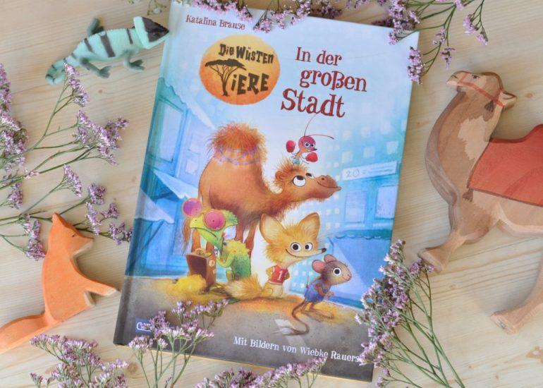 Die wüsten Tiere - In der großen Stadt #buchtipp #kinderbuch #buch #wüste #lesen #vorlesen