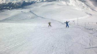 Skifahren mit Kind: Ratschings