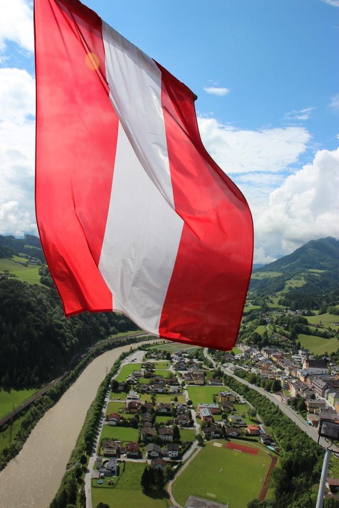 Erlebnisburg Hohenwerfen: Aussicht vom Glockenturm ins Salzachtal
