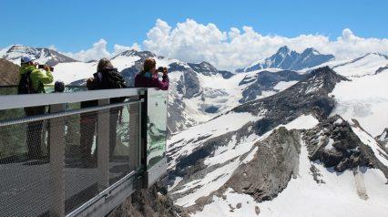 Kitzsteinhorn: Aussichtsplattform